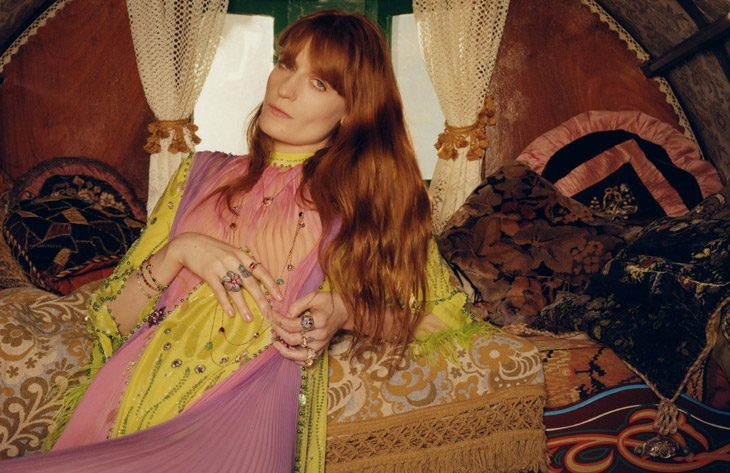 Florence Welch is the Face of Gucci Jewelry Collection