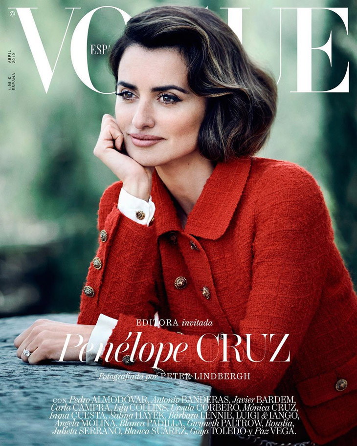 Penelope Cruz is the Cover Star of Vogue Spain April 2019 Issue