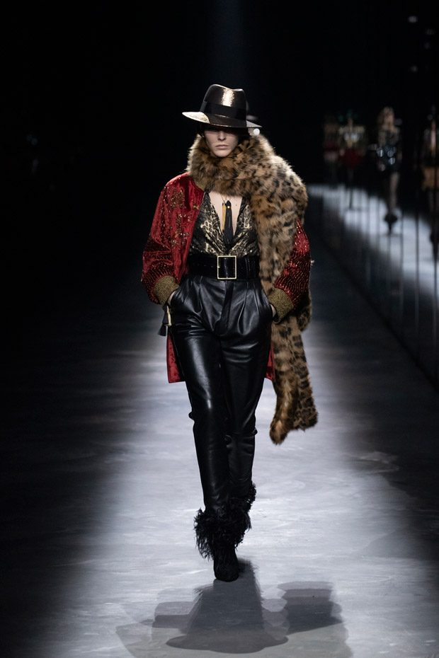 632b841a033 PFW: SAINT LAURENT Fall Winter 2019.20 Collection