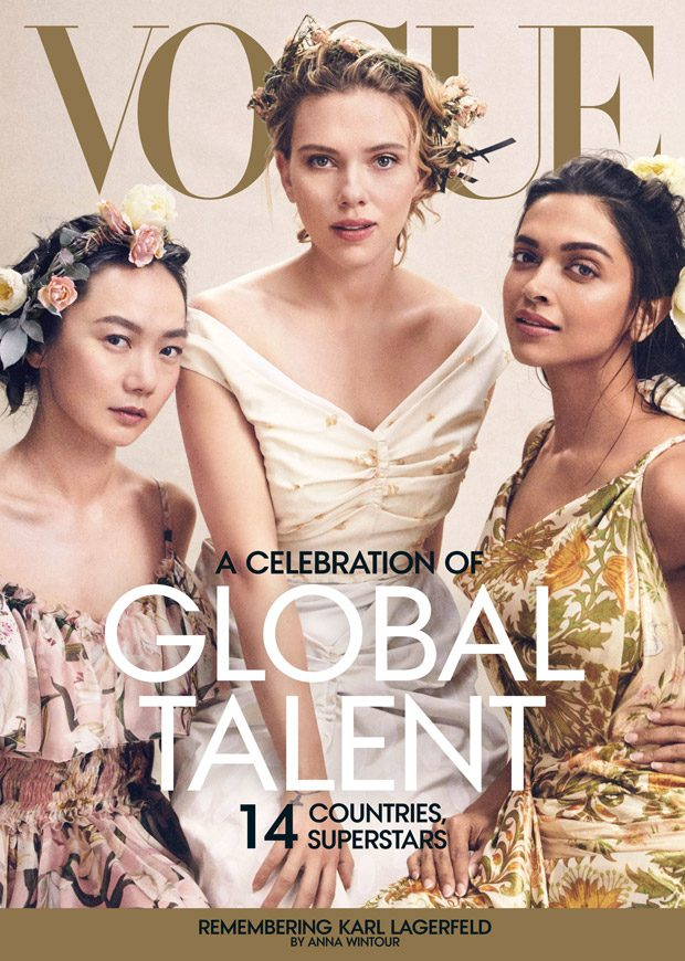 Celebration of Global Talent by Mikael Jansson for American Vogue
