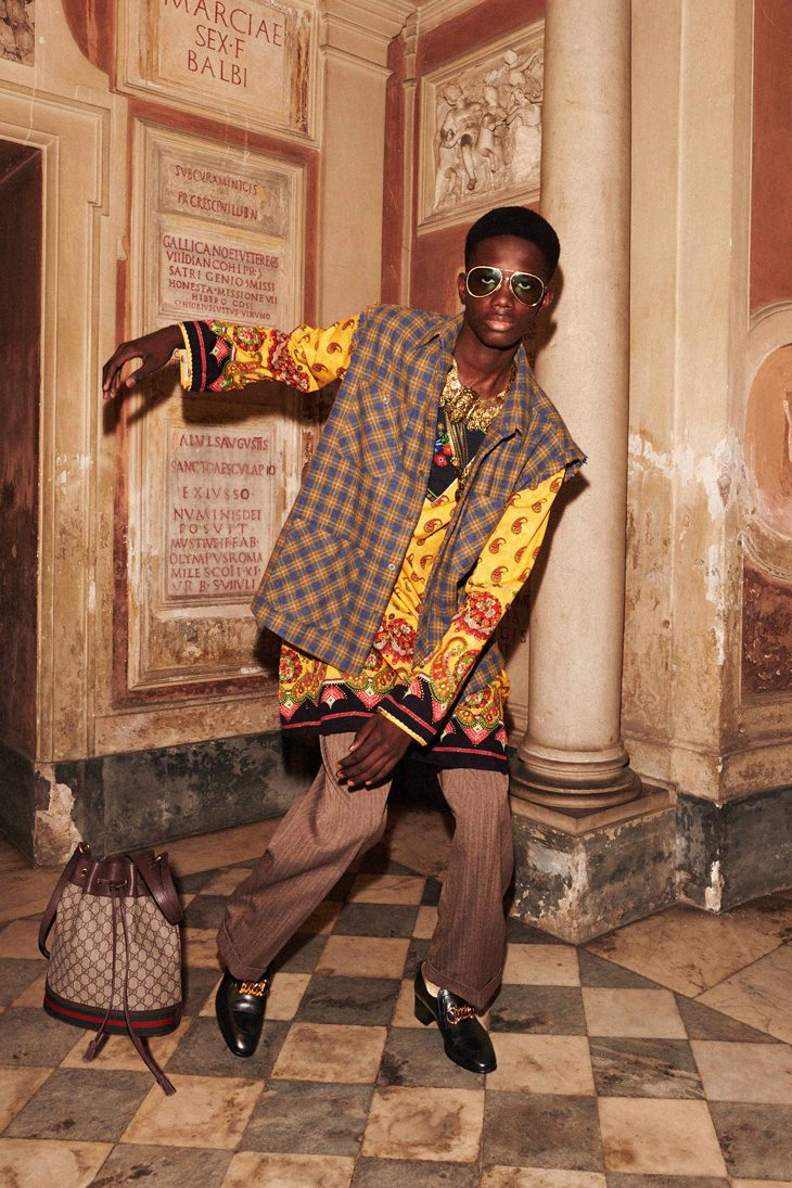 LOOKBOOK GUCCI Cruise 2020 Menswear Collection