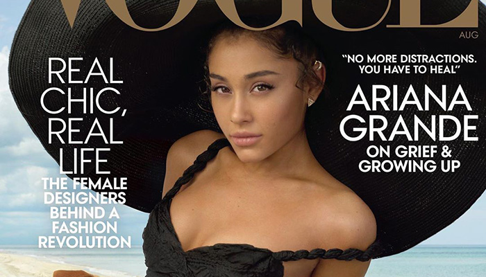 Ariana Grande is the Cover Star of American Vogue August ... - photo#9
