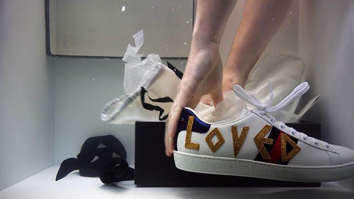 Как выглядят арт-работы, вдохновленные кроссовками Gucci Ace (фото 2)