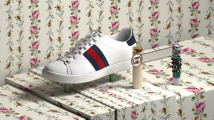 Как выглядят арт-работы, вдохновленные кроссовками Gucci Ace (фото 3)