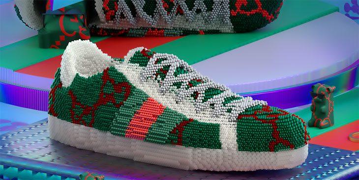 Как выглядят арт-работы, вдохновленные кроссовками Gucci Ace (фото 7)
