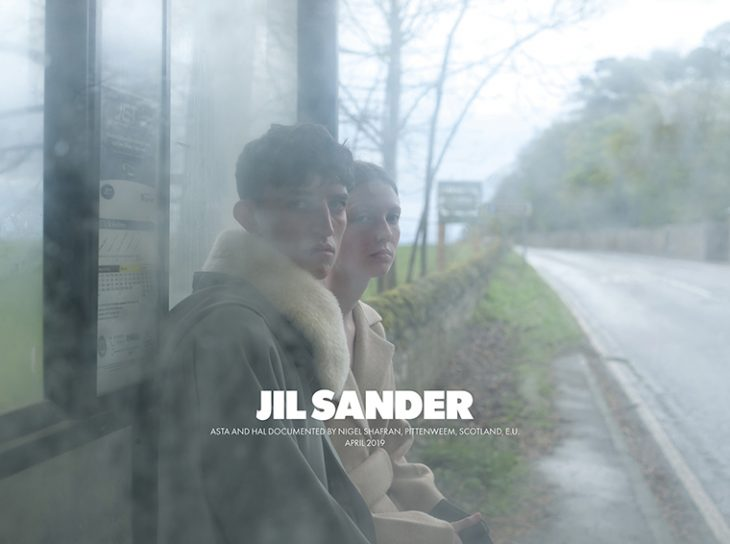 Jil Sander Fall Winter 2019 20 photographed by Nigel Shafran