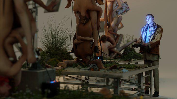 Роботы и позы Камасутры в кампании ювелирных украшений Y Project (фото 3)