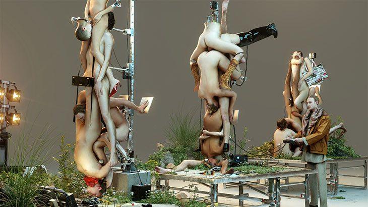 Роботы и позы Камасутры в кампании ювелирных украшений Y Project (фото 6)