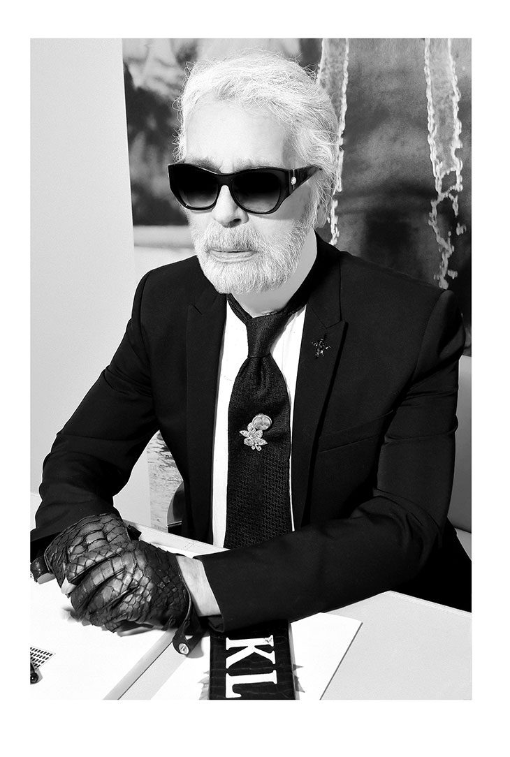 Maison Karl Lagerfeld Introduces 'A Tribute to Karl: The White Shirt Project'