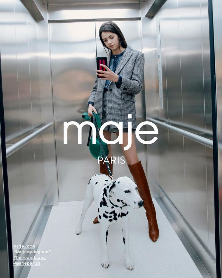 Discover Maje Paris Selfie Zone for Fall Winter 2019.20 Season
