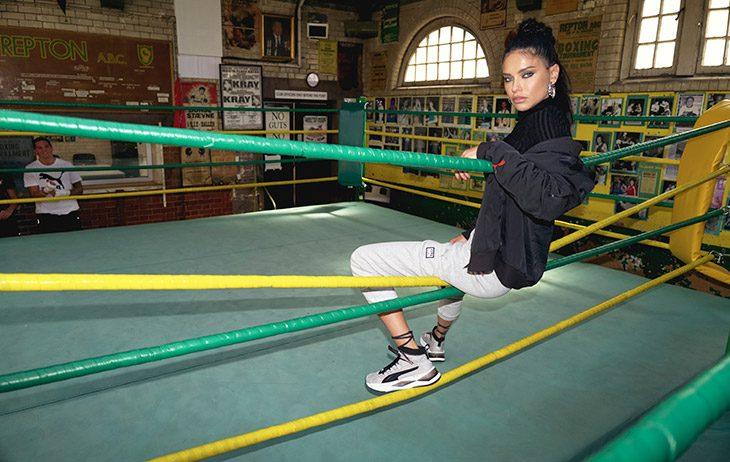 Puma и модель Адриана Лима выпустили коллекцию, вдохновленную боксом (фото 2)