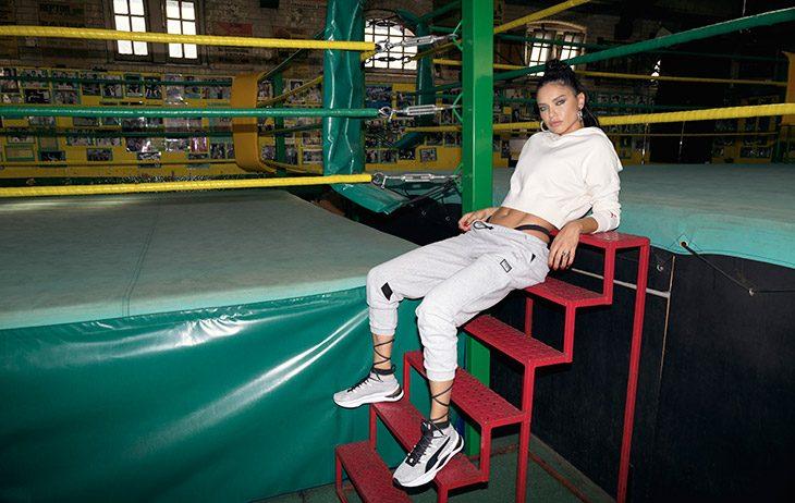 Puma и модель Адриана Лима выпустили коллекцию, вдохновленную боксом (фото 6)