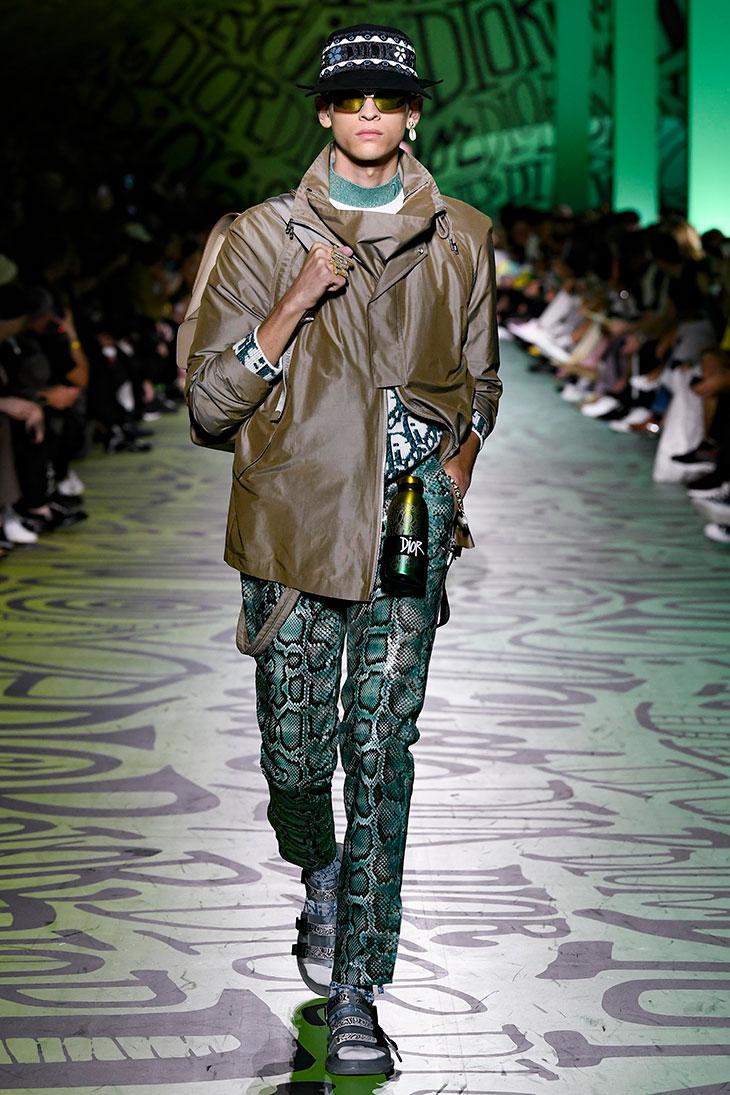 Am Katarina Model dior men's fall 2020 collectionkim jones presented in miami