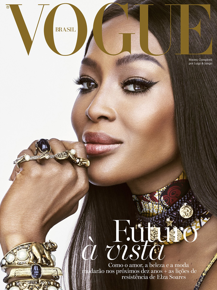 Naomi Campbell is the Cover Star of Vogue Brazil December 2019 Issue