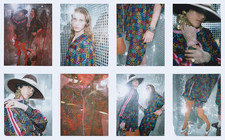 Gucci GG Psychedelic Collection Channels the spirit of '70s