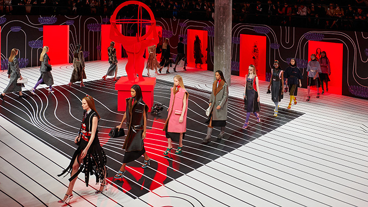 Mfw Prada Fall Winter 2020 Collection Brings The Surreal Glamour