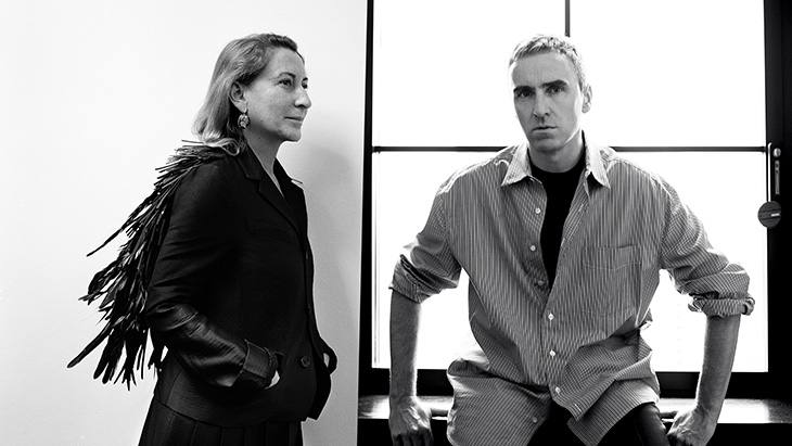 FASHION's DREAM TEAM: MIUCCIA PRADA & RAF SIMONS