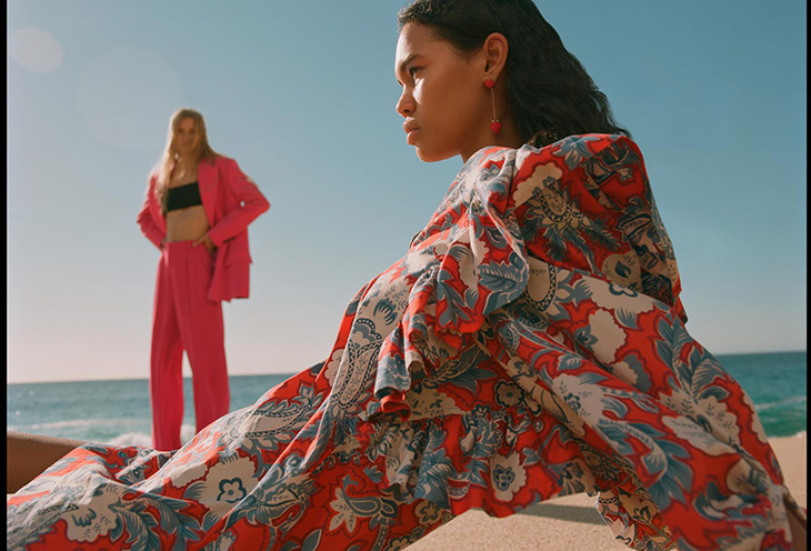 ZARA TRF's New Womenswear Collection Brings Summer Vibes