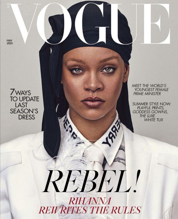 Rihanna British VOGUE