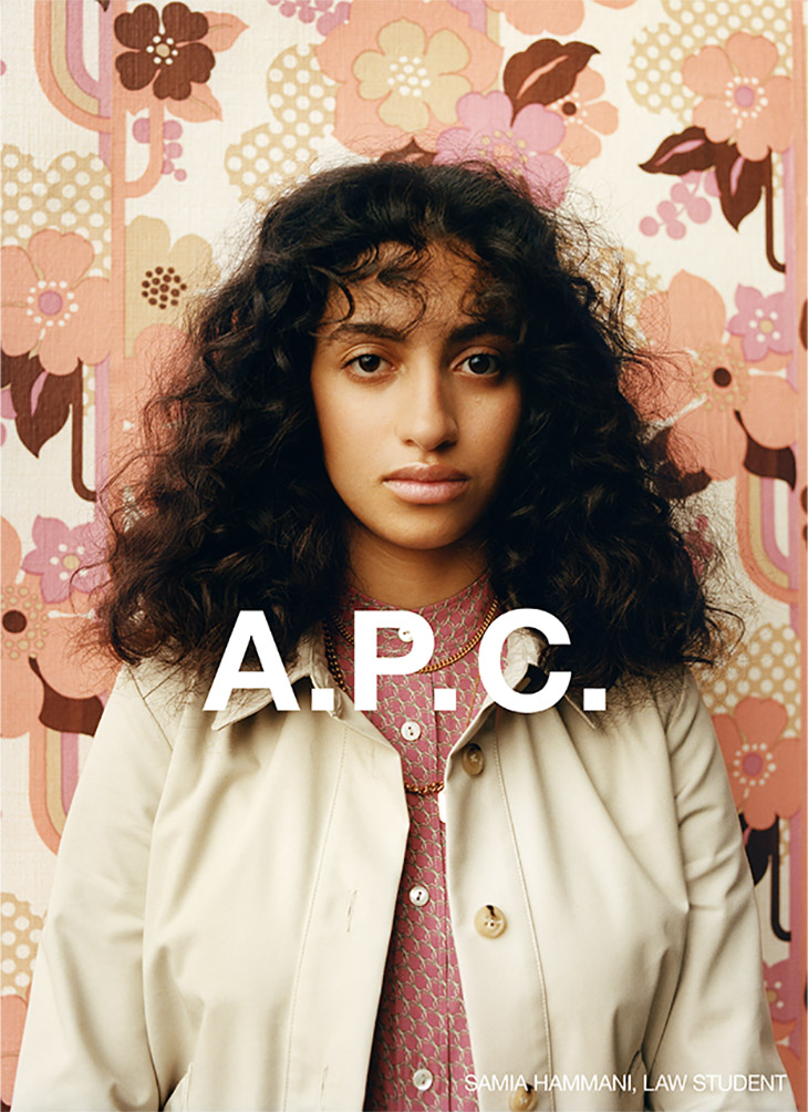 Portraits of Youth: A.P.C. Fall Winter 2020 by Julie Grève