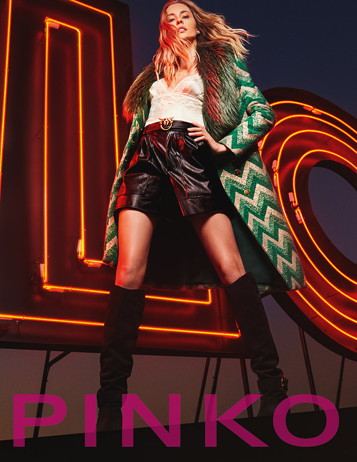 Nadja Bender is the Face of PINKO Fall Winter 2020 Collection