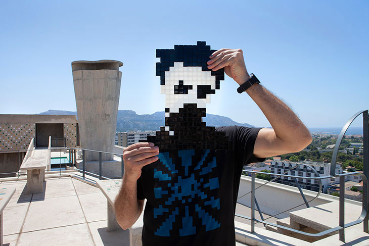 Street Artist Invader Secretly Installed Over 80 Artworks In Marseille