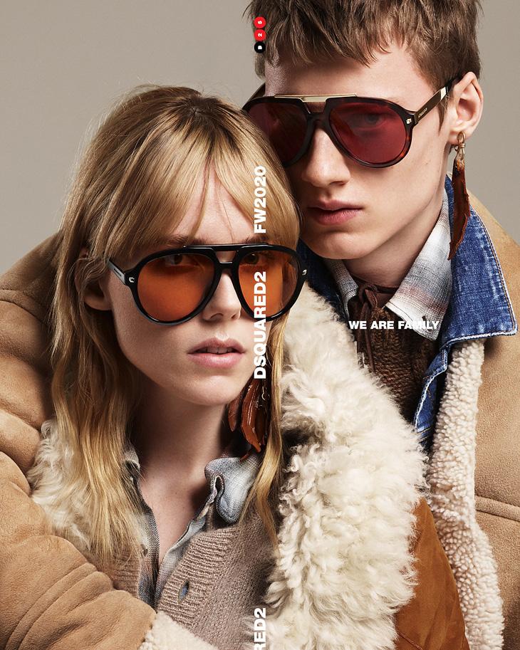 Modernized Classics: Dsquared2 Fall Winter 2020 Eyewear Collection