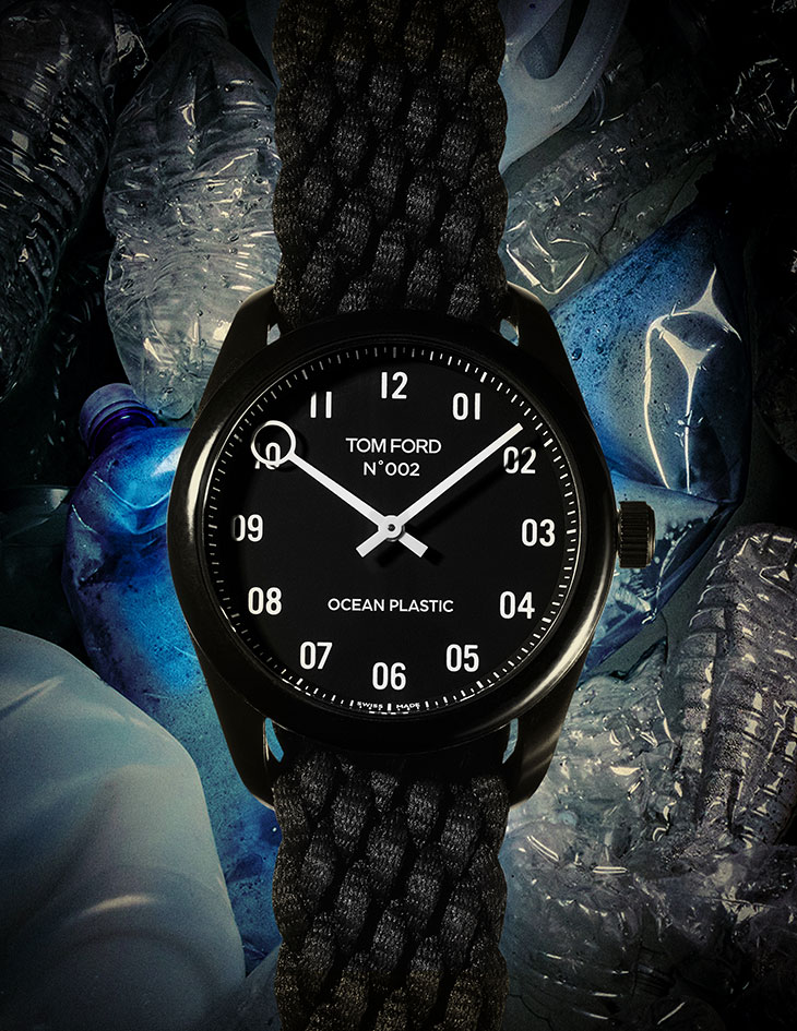 Tom Ford Releases the Ocean Plastic Timepiece