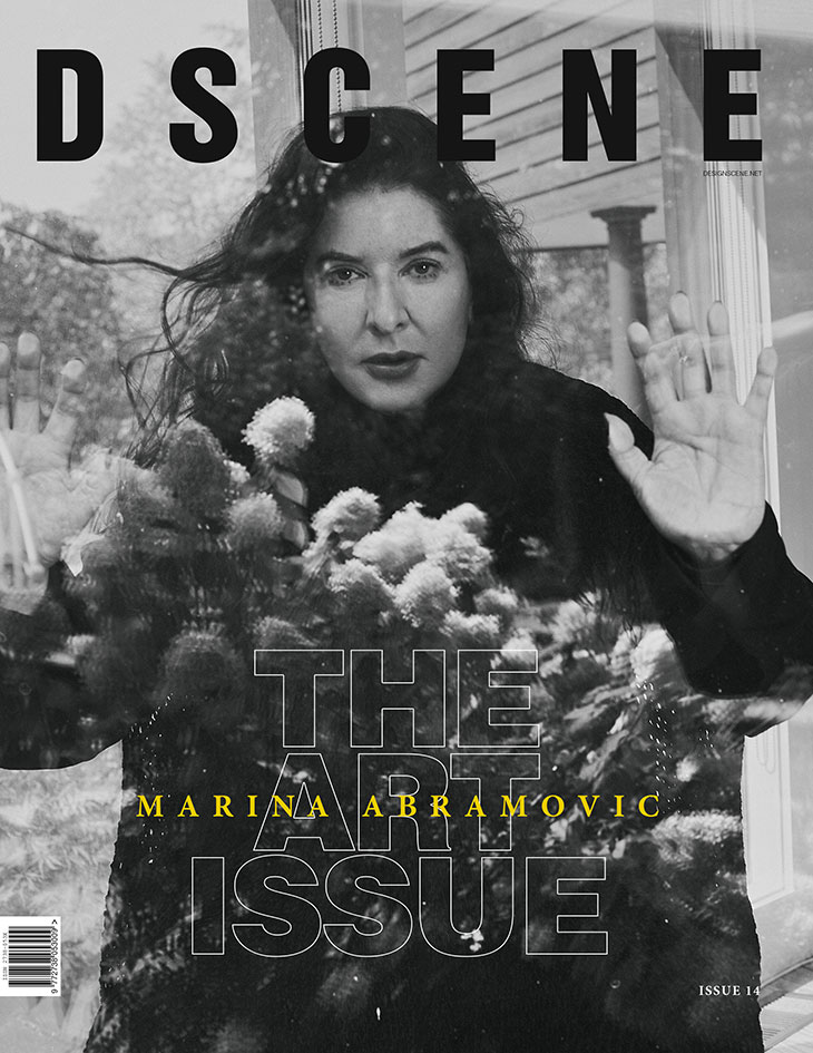 DSCENE Art Issue With Marina Abramovic is OUT NOW