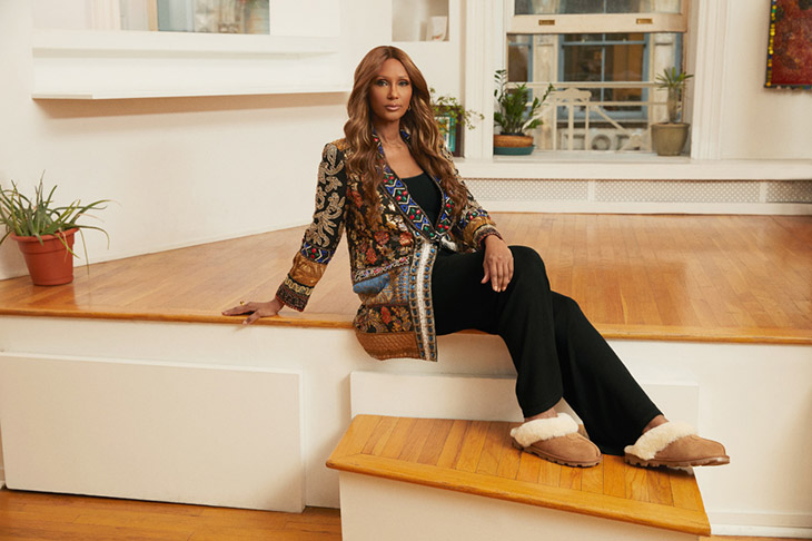 Fashion Icon IMAN is the Face of UGG Spring Summer 2021 Collection