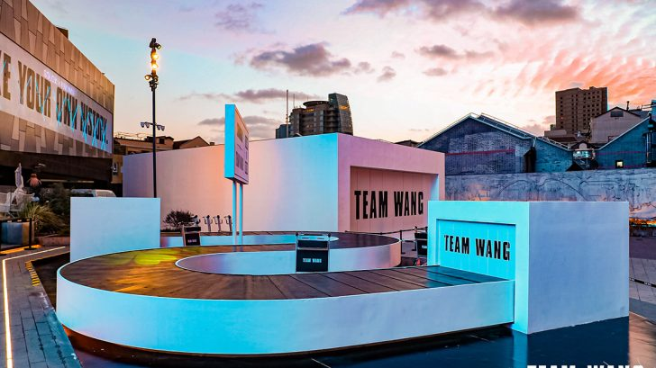TEAM WANG CONCEPT POP UP SPACE