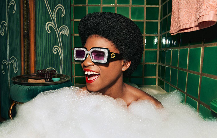 A Touch of Vintage Glamour: GUCCI Hollywood Forever Eyewear Collection