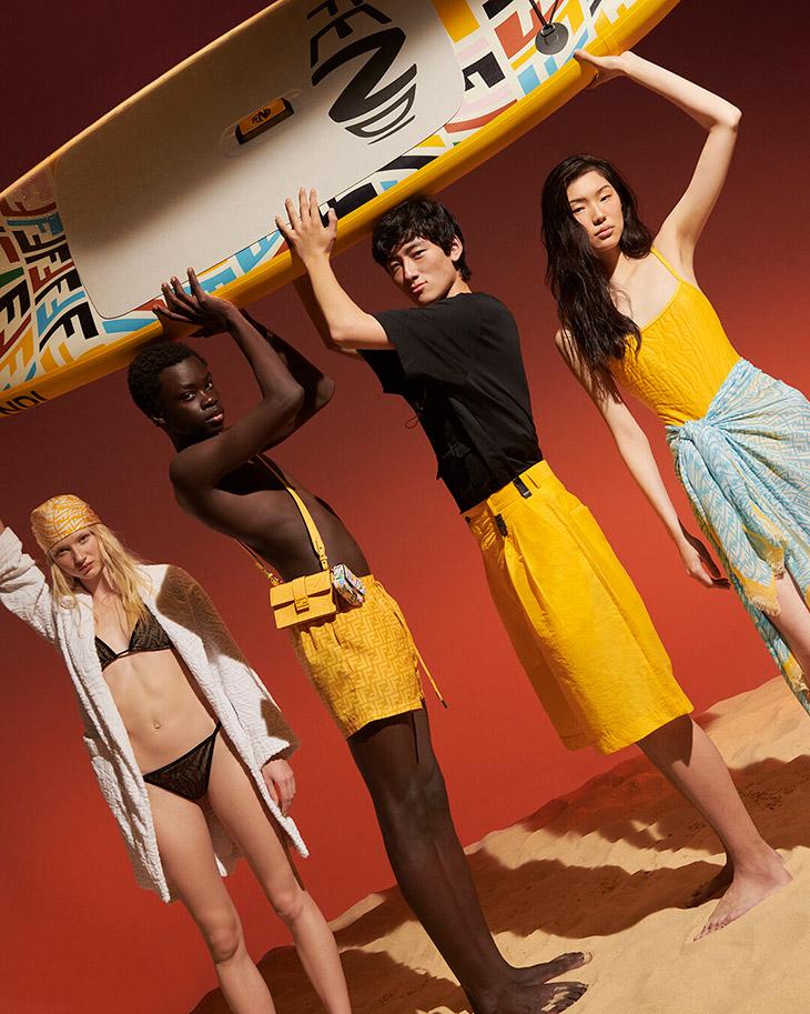 Discover FENDI Summer 2021 Vertigo Beachwear Capsule Collection