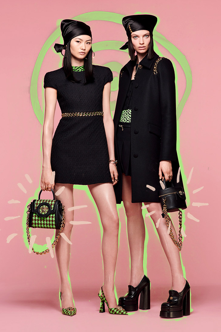 Discover VERSACE Resort 2022 Collection