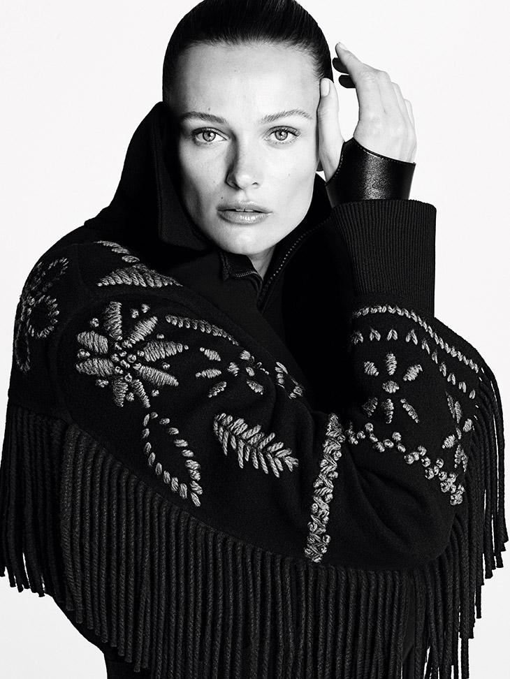 Edita Vilkeviciute Models Ermanno Scervino Fall Winter 2021 Collection