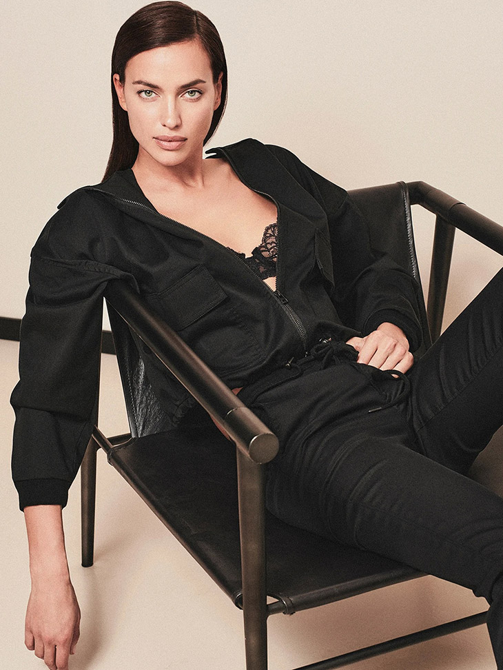 Irina Shayk is the Face of DL1961 Fall Winter 2021 Collection