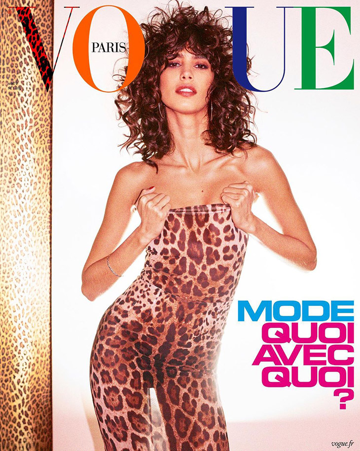 Mica Argañaraz is the Cover Star of Vogue Paris August 2021 Issue