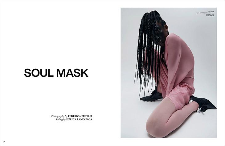 Soul Mask by Federica Putelli & Enrica Lamonaca for DSCENE Magazine